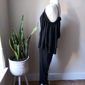 H&M Pants - H&M OFF Shoulder Jumpsuit Romper